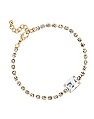 Jon Richard Diamante Baguette Bracelet
