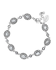 Jon Richard Oval Crystal Bracelet
