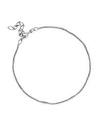 Simply Silver Skinny Mesh Bracelet