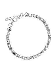 Simply Silver Narrow Mesh Bracelet