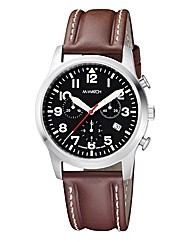 M-Watch Aero Mens Strap Watch