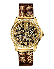 Guess Wildcat Ladies Bracelet Watch