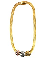Magnetic Mesh Necklace