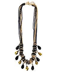 Multi Teardrop Necklace