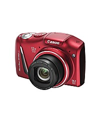Canon Powershot SX150 Camera Red 14MP