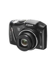 Canon Powershot SX150 IS Camera Black 14
