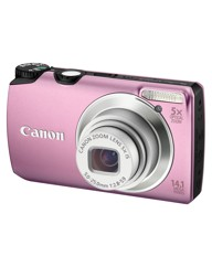 Canon Powershot A3200 IS Camera Pink 14M