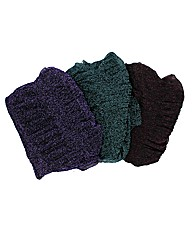 Set Of 3 Sparkle Scarves