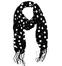 Lightweight Spotted Scarf