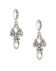Mood Mixed Stone Cluster Drop Earring