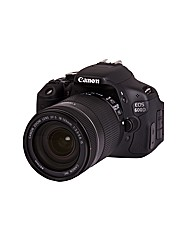 Canon EOS 600D SLR  EF-S 18-55mm 18MP
