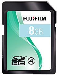 Fuji 8GB SD High Capacity Card  Class 4