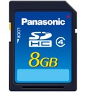 Panasonic RP-SDN08GE1A 8GB  SD Card