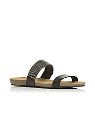 Moda in Pelle Nori Ladies Sandals