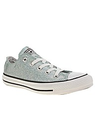 Converse All Star Iridescent Glitter Ox