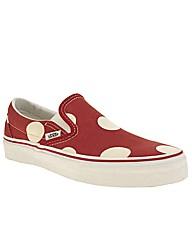 Vans Classic Slip Polka Dots