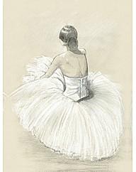 Arthouse Ballet Dancer Canvas