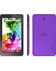 "HIPSTREET Titan 4 7"" Tab - 8GB Purple"