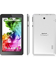 "HIPSTREET Titan 4 7"" Tab - 8GB White"