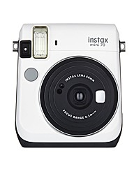Fuji Instax Mini 70 Instant Cam-White