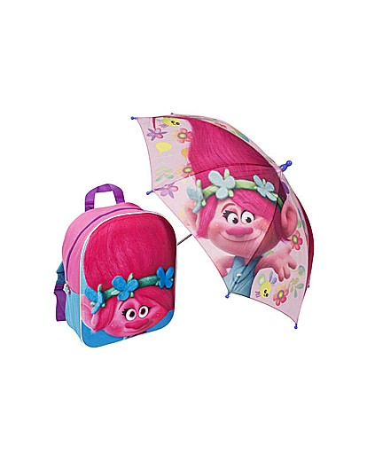 Trolls Backpack & Umbrella.