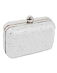 Perfect Crystal Encrusted Clutch Bag