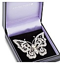 Jon Richard Crystal Butterfly Brooch
