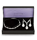Jon Richard Crystal Jewellery Gift Set