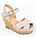 Strawberry Cross Over Wedge Sandal