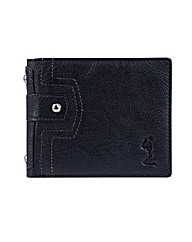 Religion Insignia Leather Wallet