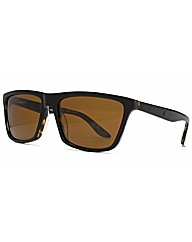 Storm Black Square Sunglasses