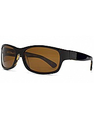 Storm Black Wrap Sunglasses