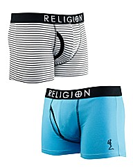 Religion Broken Twin Pack Boxers