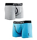 Religion - Broken Twin Pack Boxers