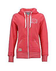 Ladies Crest Zip Hood
