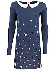 Brakeburn Blue Bird Dress