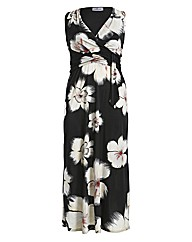 Praslin Flower Print Maxi Dress