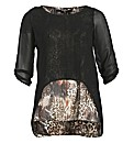 Koko Animal Double Layer Top