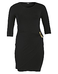 Koko Jersey Buckle Dress