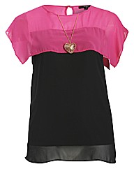 Koko Heart Necklace Top