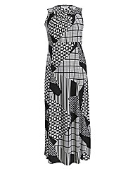 Threads Cut Out Maxi Dress