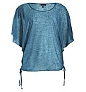 Samya Batwing Tie Knoted 2 In 1 Top