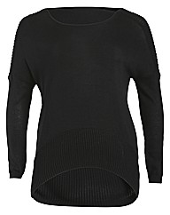 Samya Long Sleeve Knitted Pullover