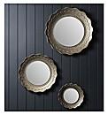 Gallery Cora Mirror (set of 3)