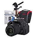 Canon EOS 700D Black SLR IS Kit