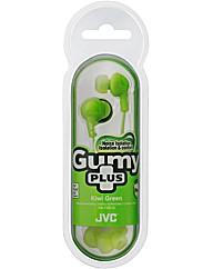 JVC Gumy Plus Inear Earphones Green