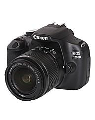 Canon EOS 1200D SLR Camera inc 18-55mm