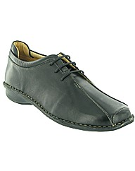 Amblers Pacco Ladies Casual Lace Shoe
