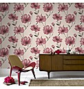 Graham & Brown Spirit Ruby Wallpaper