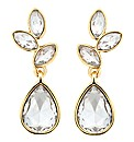 Jon Richard Crystal Cluster Drop Earring